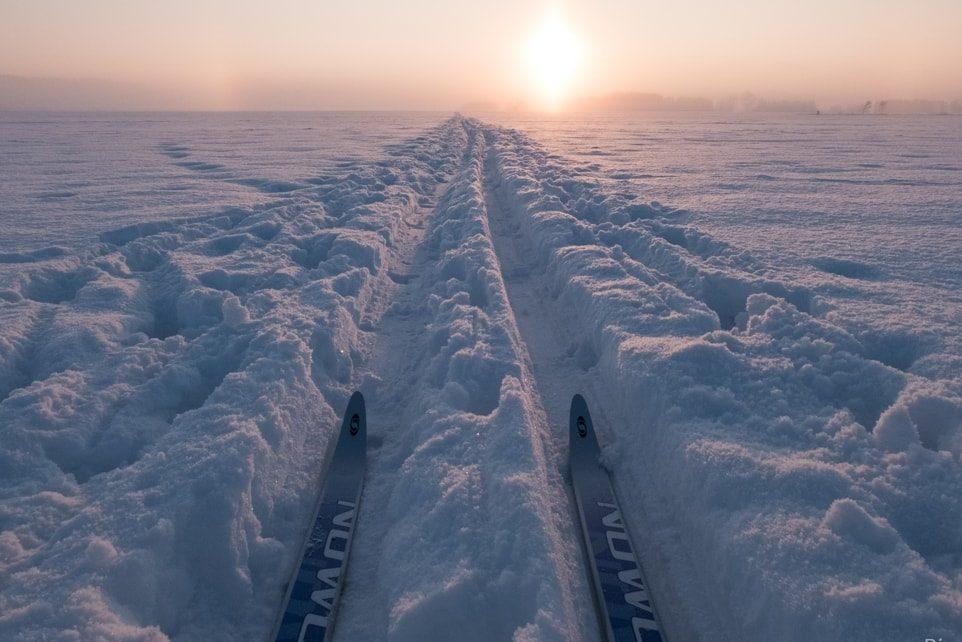 Fotograf na běžkách. Jak fotit v zimě?