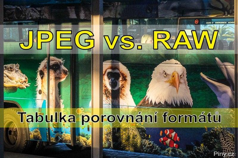 Fotorada #58: RAW vs. JPEG. Co je lepší a v jakém formátu fotit?
