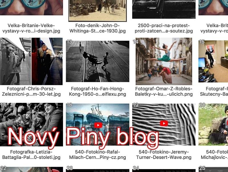 Založil jsem Pinyblog –čtěte novinky, aktuální info