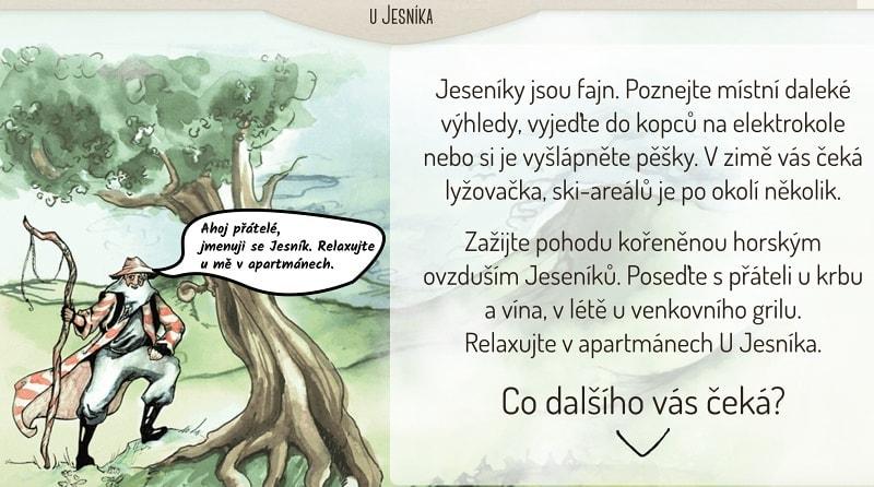 Ukázka - texty pro web - copywriting mariankabele.cz