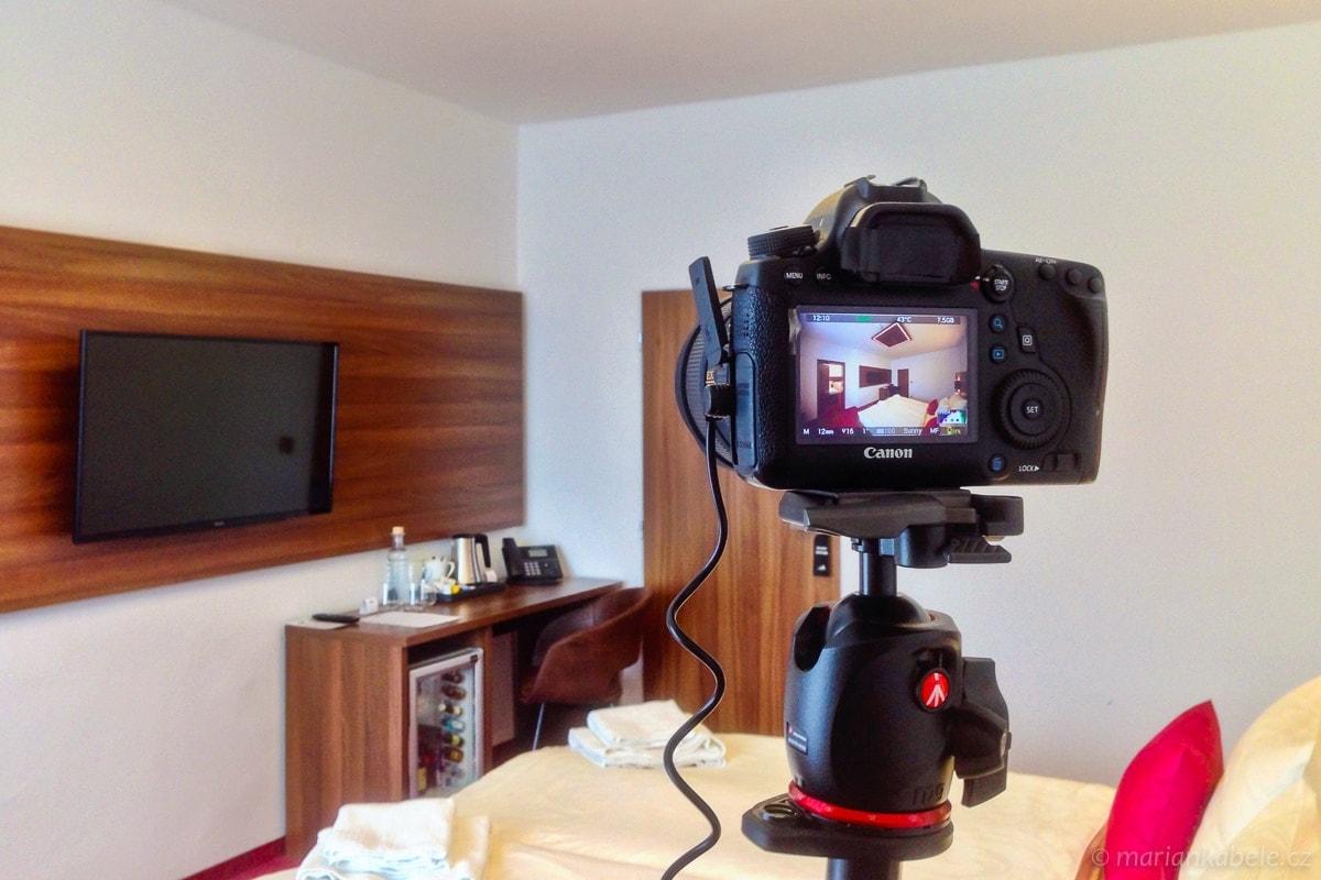 Fotografování hotelu Bohemia Inn vČeském ráji
