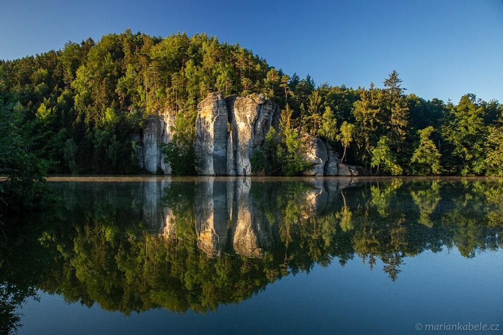 Věžický rybník.