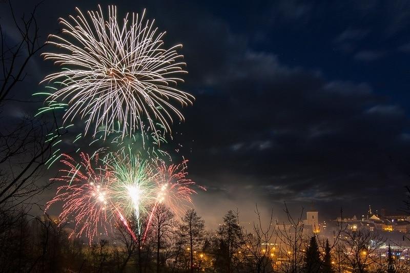 Novoroční ohňostroj – Jak fotit?