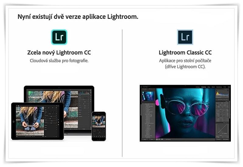 Vyšel nový Lightroom Classic CC aLightroomCC – Čím seliší akolik stojí?