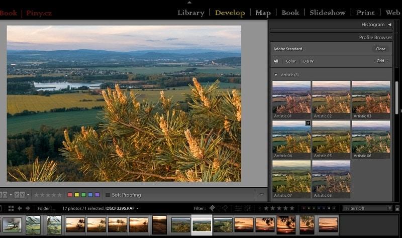 Nové profily vAdobe Lightroom7.3 azměna Dehaze –upravujte fotografie rychleji